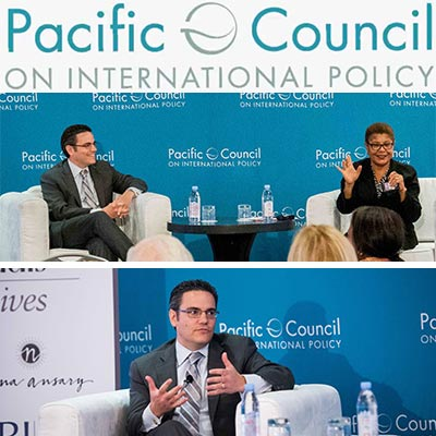Harris Moderates Discussion on U.S.-Africa Policy with Congressmember Karen Bass