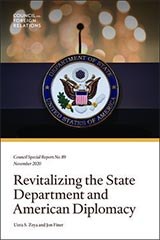 Revitalizing the State Department and American Diplomacy