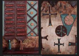 Byzantine Crosses © June Steegstra
