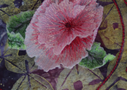 Passion Flowers detail ©Isabel Parker