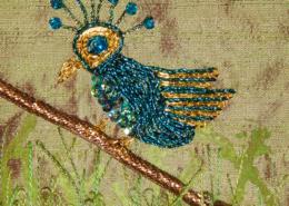 Goldwork Bird ©Susan Sasnett