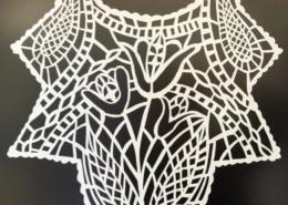 Cut Lace Paper 3 detail ©Isabel Parker