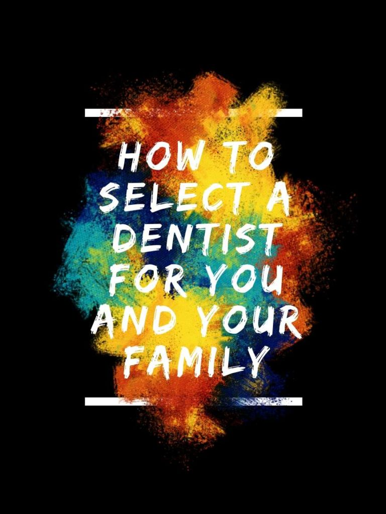 select a dentist
