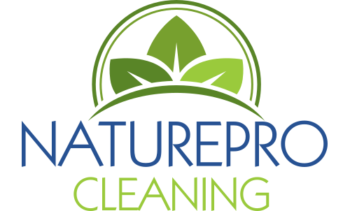 Small Nature Pro Cleaning Logo - Transparent