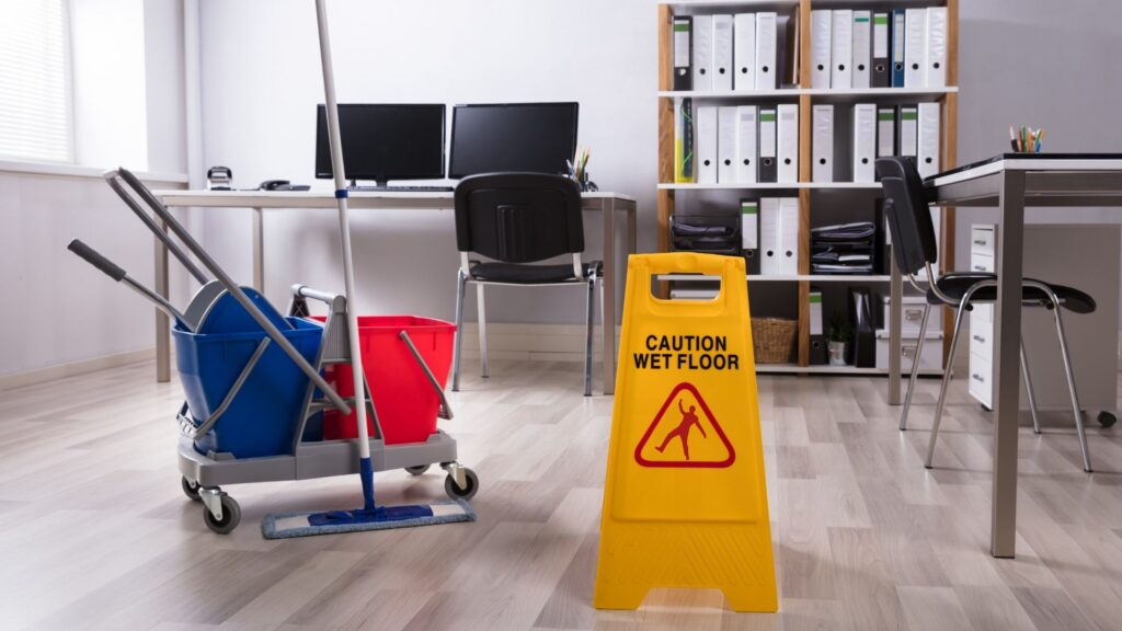 how we provide non-toxic office cleaning in Utah County