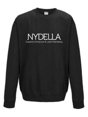NYDELLA Brand Sweatshirt - Black