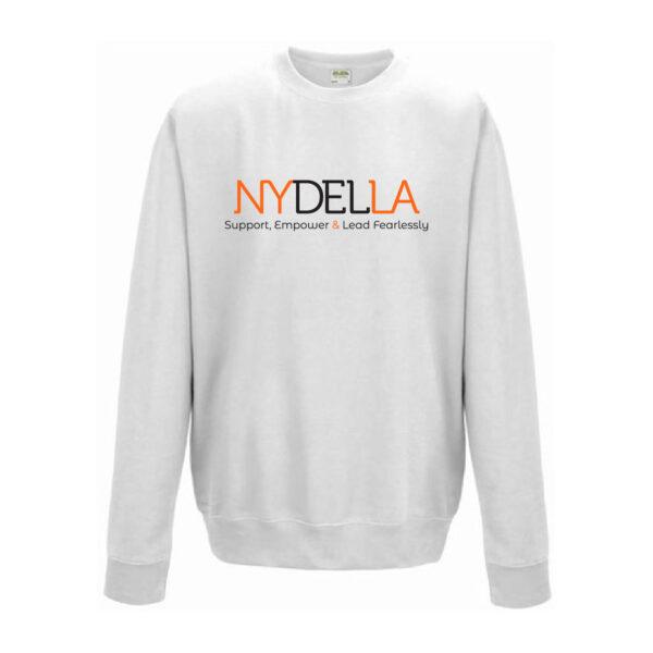 NYDELLA Brand Sweatshirt - White