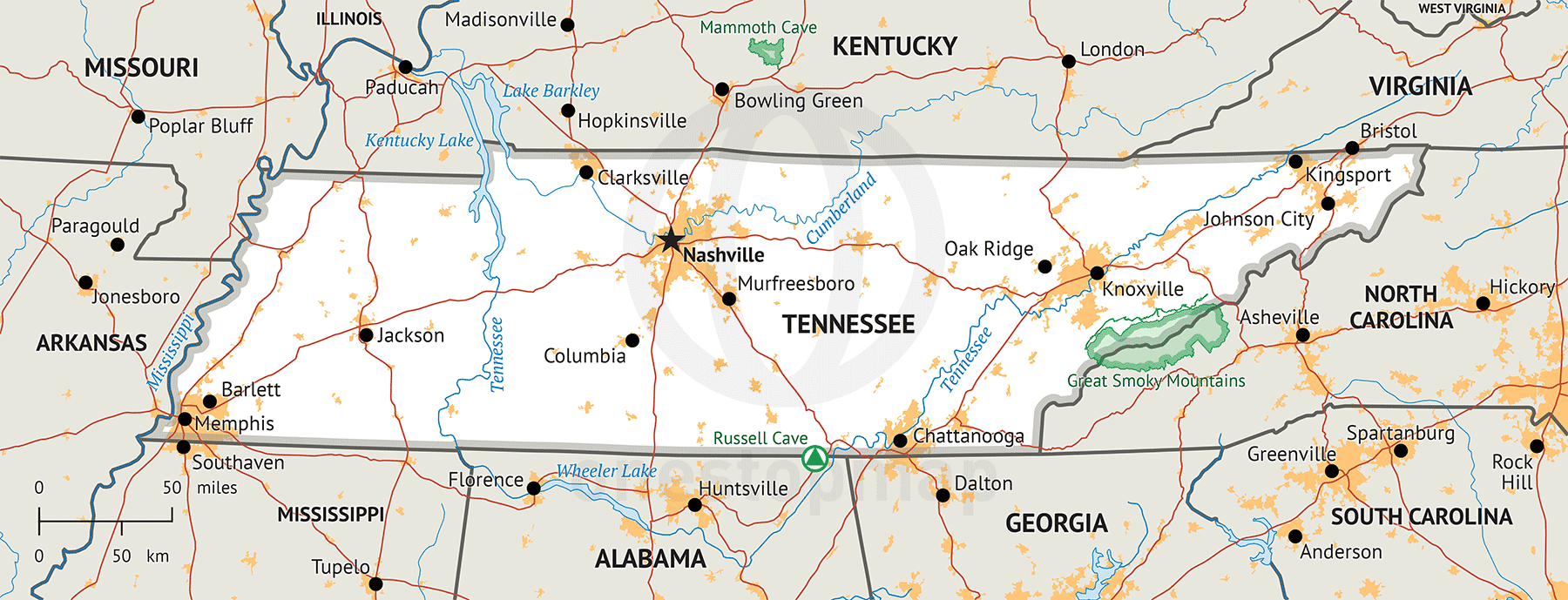 50 things to do in Tennessee!