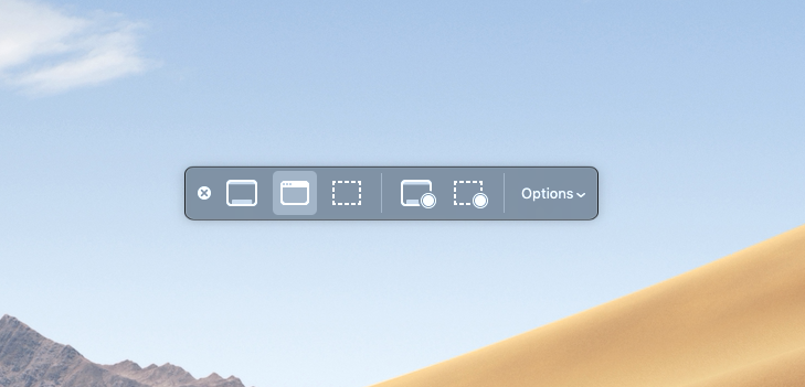 New Screen Shot Options