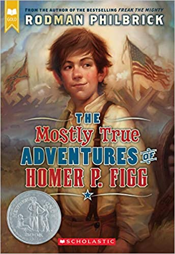 Book--The Mostly True Adventures of Homer P. Figg