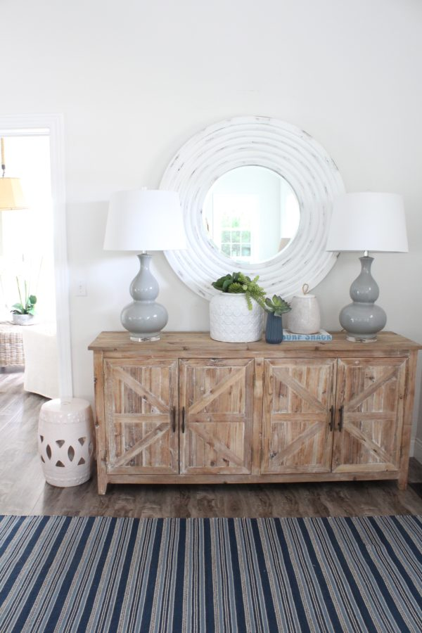 Light & Bright Entry Console
