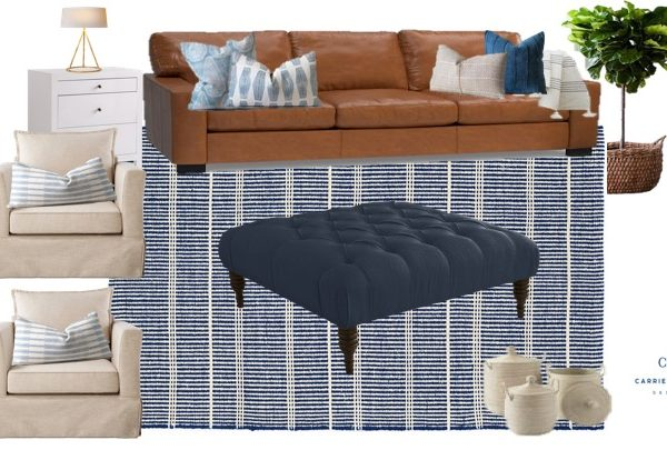 One Room Challenge Week 1 – Living Room Design