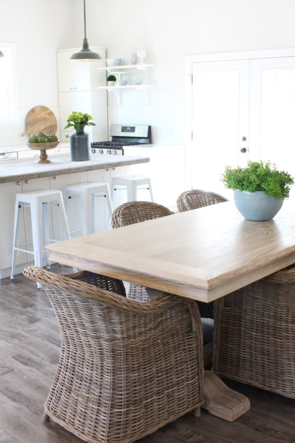 Our White Kitchen – Before & After