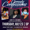 Comedy Confessions of Quarantine