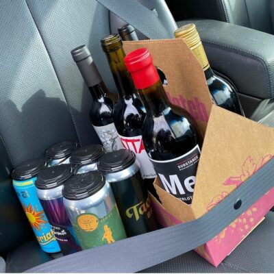 Shop Online, Wine and Beer Pick Up Safely or Have Delivered to Your Door