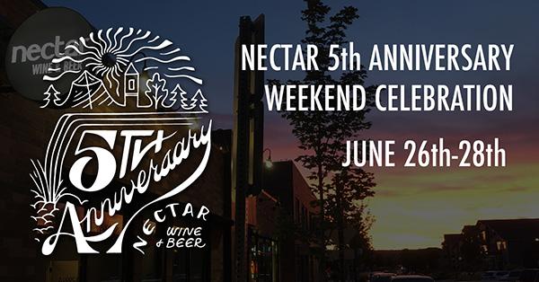 Nectar 5th Anniversary