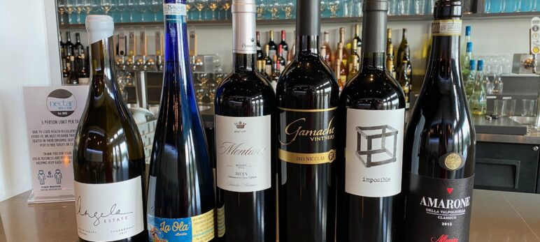 July 2020 Wine Club and Notes