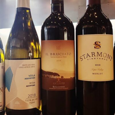 September 2020 Wine Club Wines and Notes