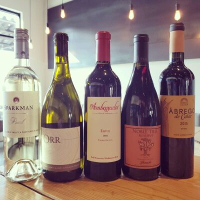 October 2020 Wine Club Wines and Notes