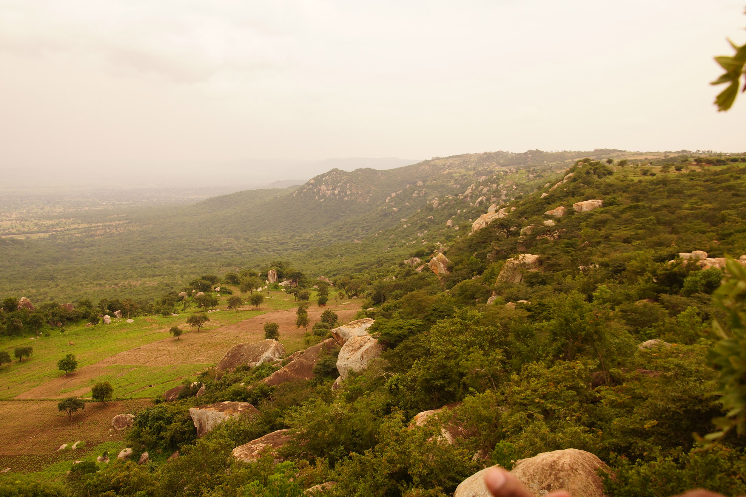 The windy Rift Valley Escarpment in Singida, Tanzania