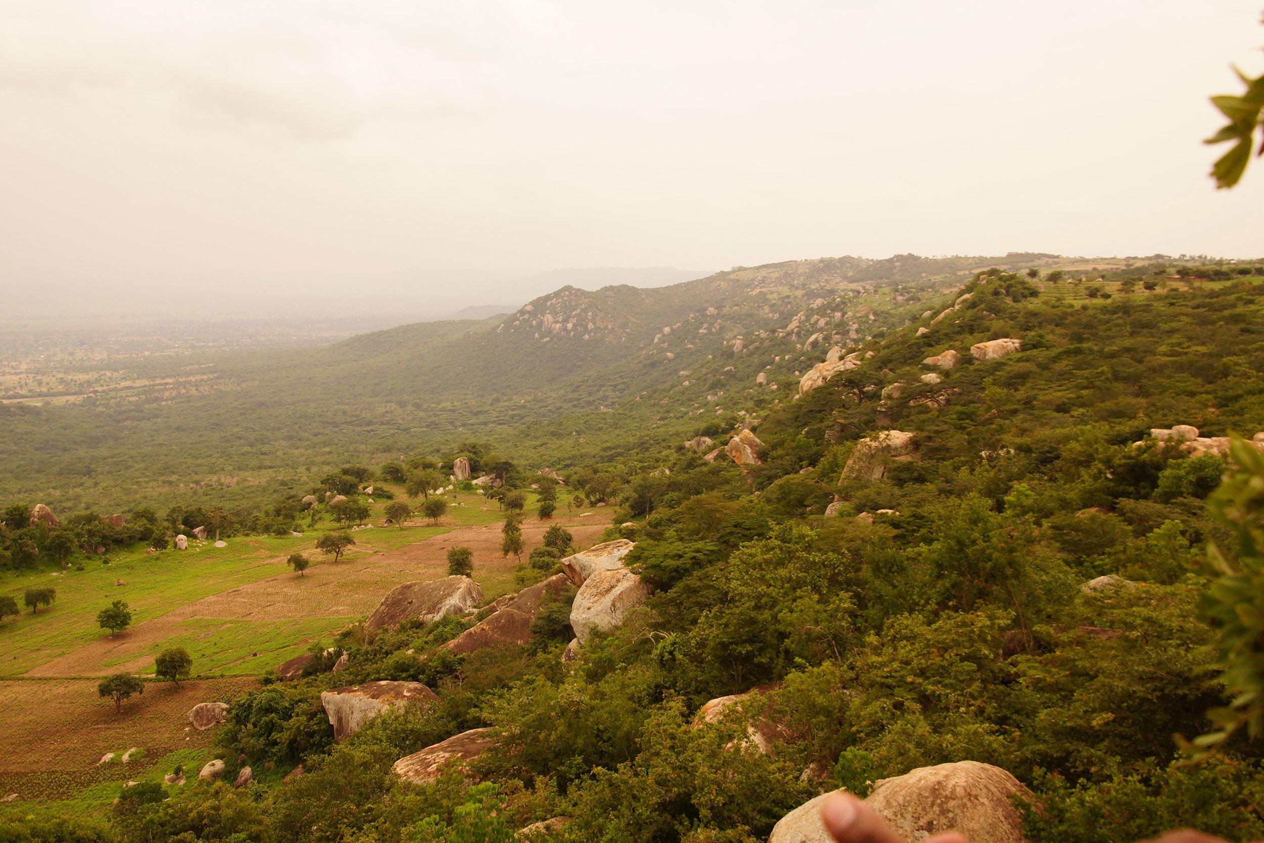 The windy Rift Valley Escarpment in Singida, Tanzania