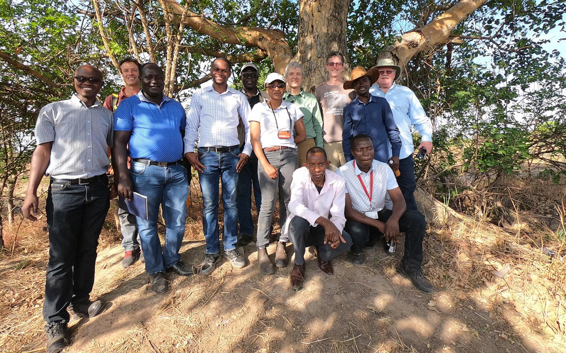 Upepo team kicks off the wind farm development.