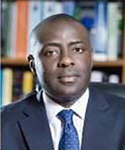Portrait of Mwelwa Chibesakunda, Upepo Energy Zambia Board Member and Zambian Legal Counsel.