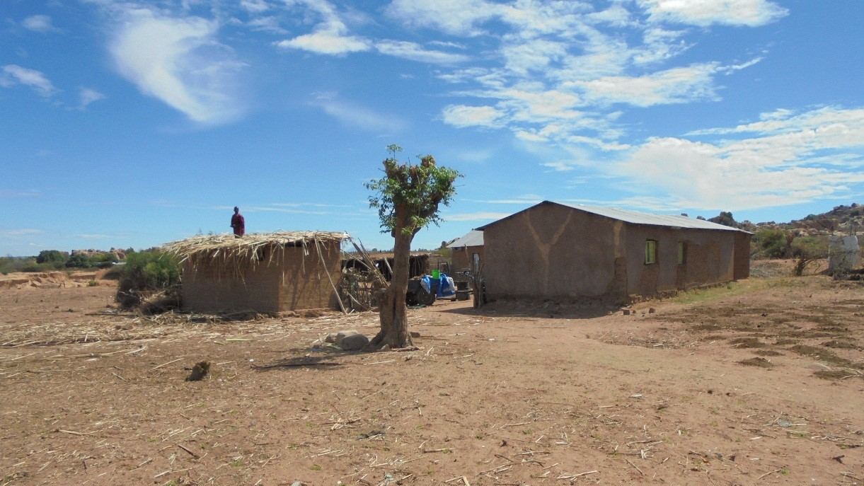 Typical houses in the Singida Solar region.