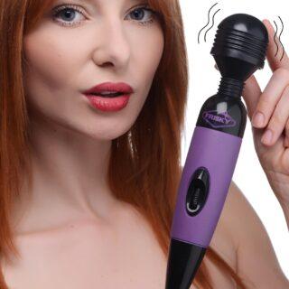 Playful Pleasure Multi-Speed Vibrating Wand - Purple