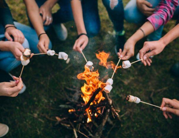 Group-roasting-marshmallows