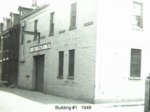 Building 1 in 1949 - Original Building before expansion into 3 more.