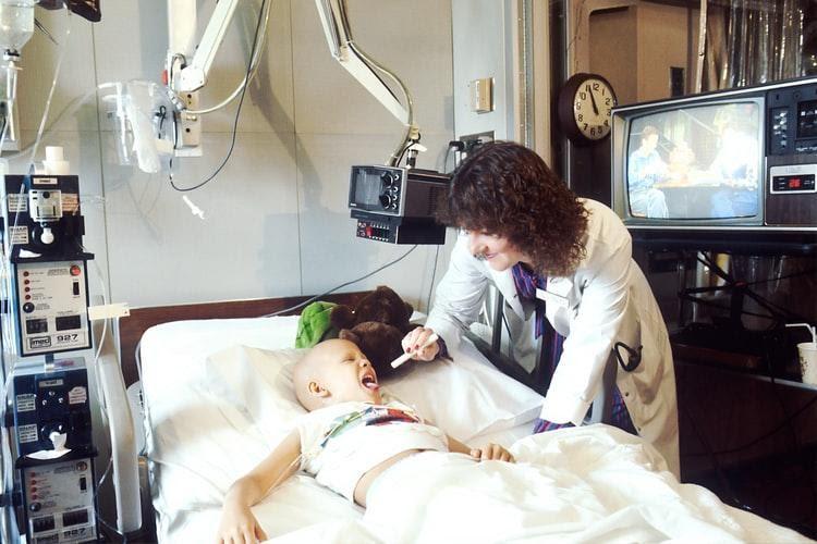 doctor seeing patient