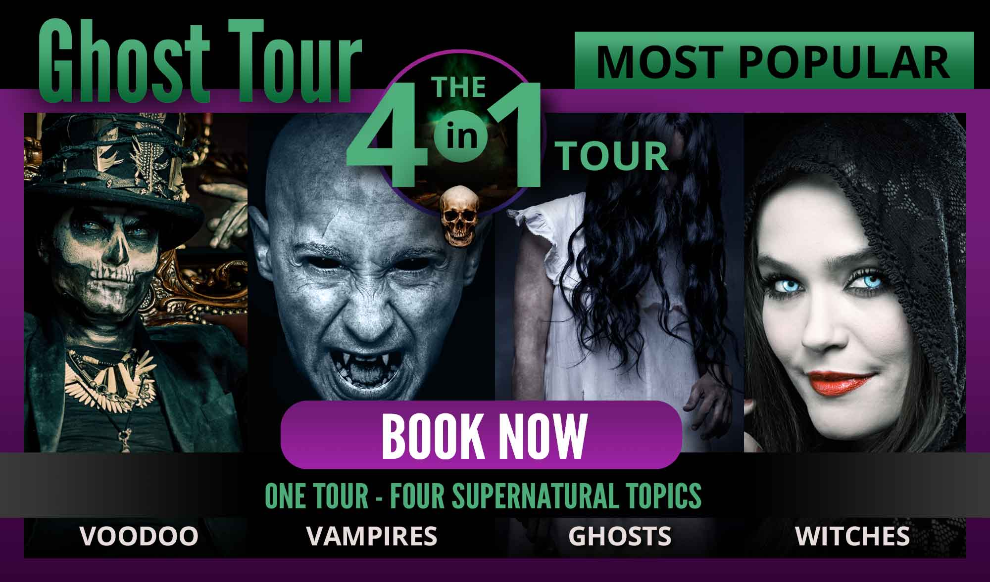 Book Your New Orleans Ghost Tour Package