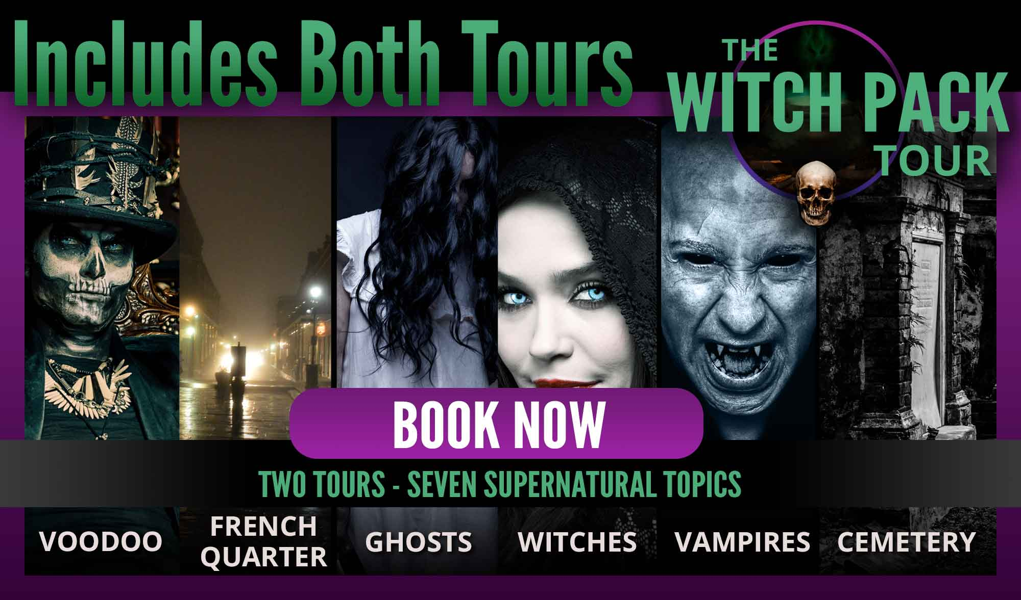 Combo Ghost and Cemetery Tour Package