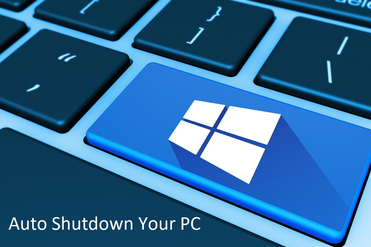 schedule shutdown in windows 10