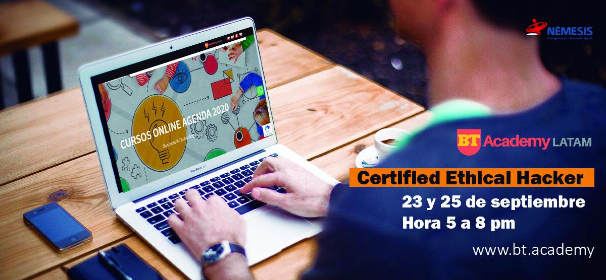 Némesis lo invita a realizar el Certified Ethical Hacker
