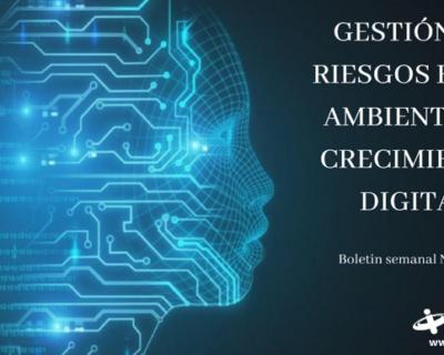 Gestion de riesgos en un ambiente de crecimiento digital