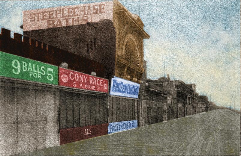 Rockaway Boardwalk, 1930