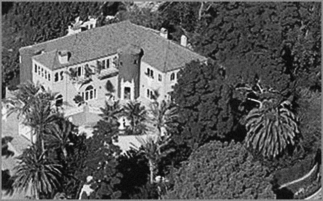 Cary and Randolph shared a Santa Monica beach house as well as mansion in Los Feliz at 2177 West Live Oak Drive.