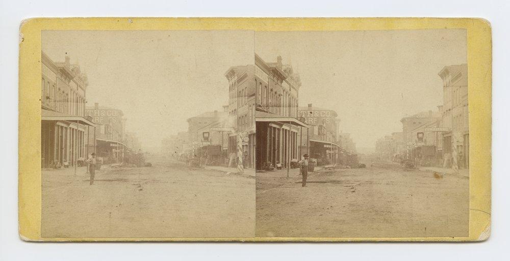 Delaware Avenue, Leavenworth, Kansas. 309 miles west of St. Louis, Mo. - 1