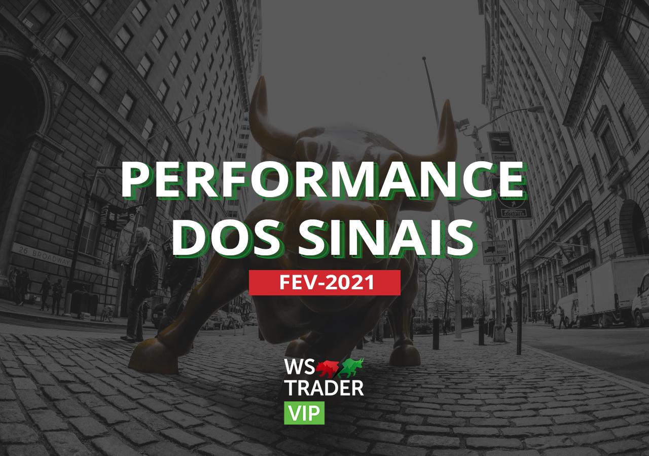 Relatório 02/21: Performance WS Trader VIP