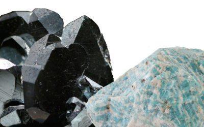 Hematite and Amazonite