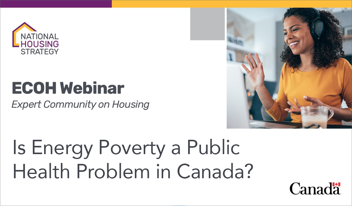 Join us this Wednesday for a Presentation on Energy Poverty in Canada by Professor Riva