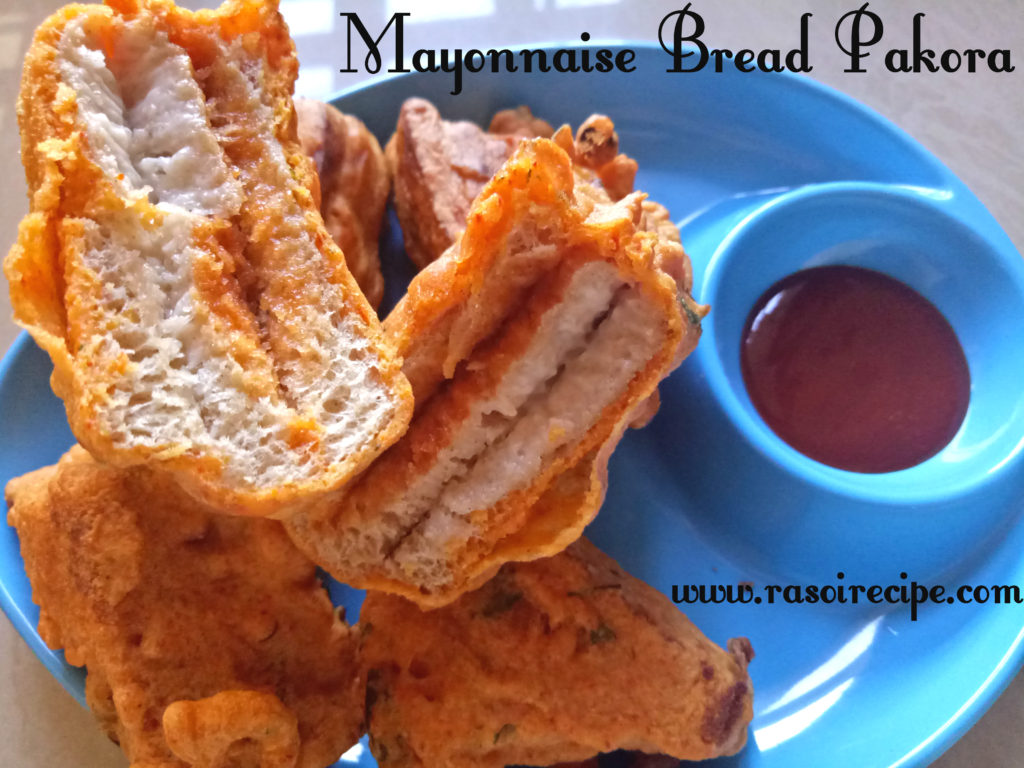 Mayonnaise Bread Pakora
