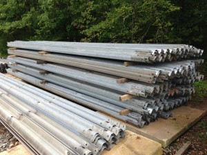 26 foot W-Beam Guardrail for sale