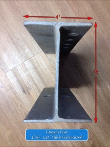 I-beam Steel Posts