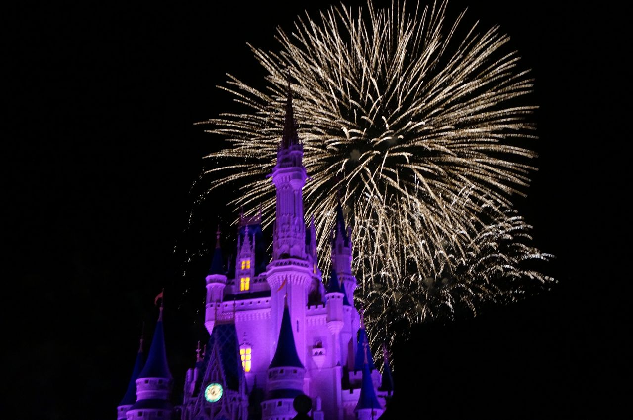 Evening at Magic Kingdom Park is full of enchantment.