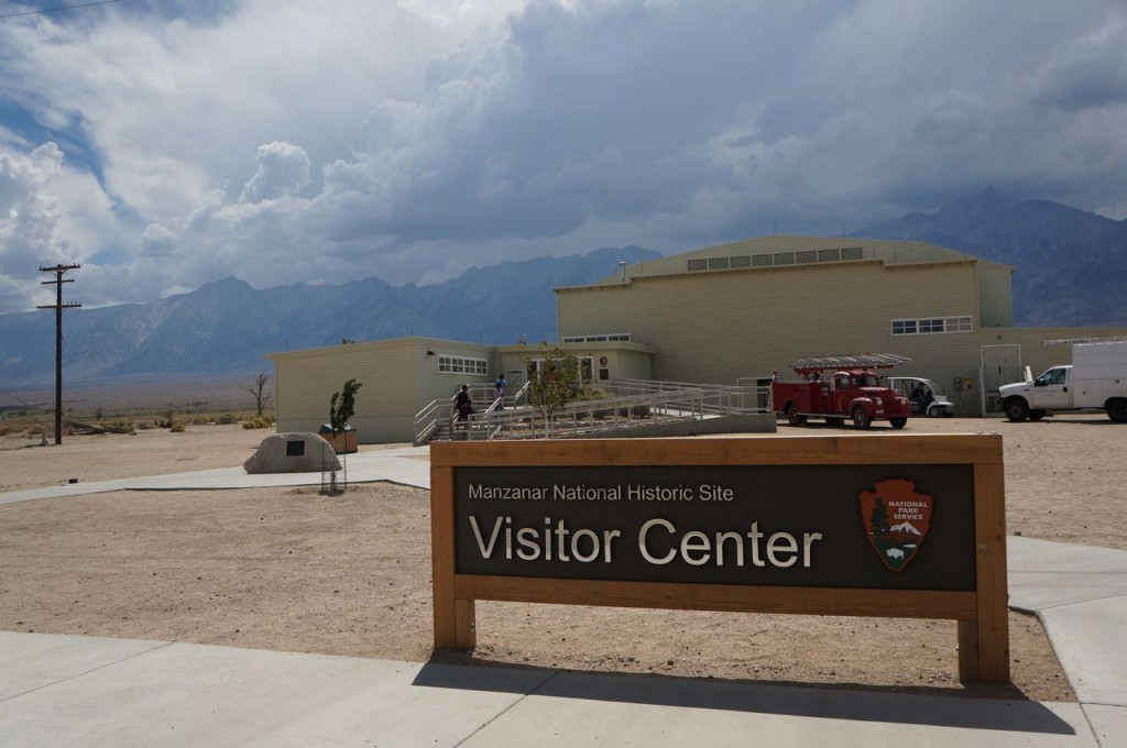 manzanar  is a stop on a road trip from Lake Tahoe to Los Angeles.