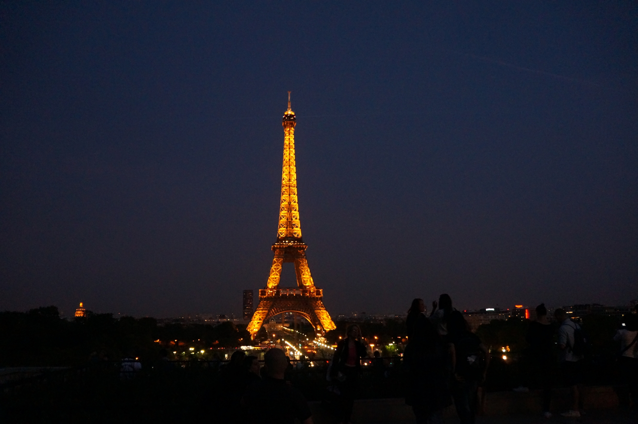 The Eiffel Tower: A First Glance