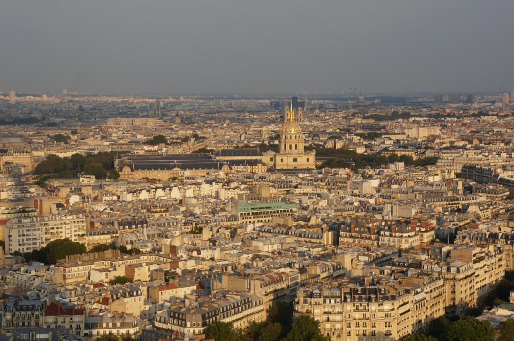 eiffel city view